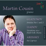 Martin Cousin, Glazunov CD